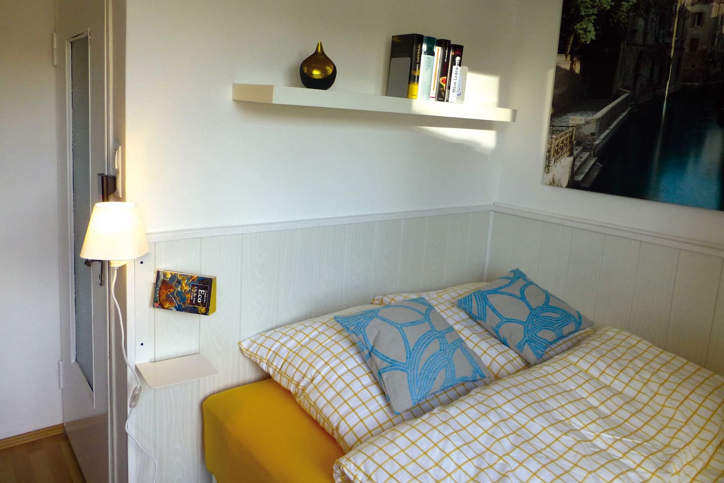 Your bed - cocooning in an alcove