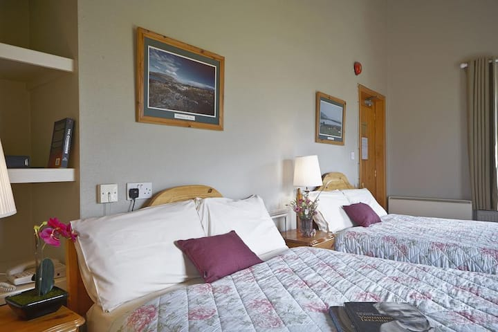 Comfy Private Twin Room (#8) in Heart of Doolin