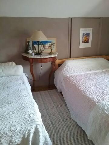 Chambre dans une maison de charme - Ayros-Arbouix - Casa