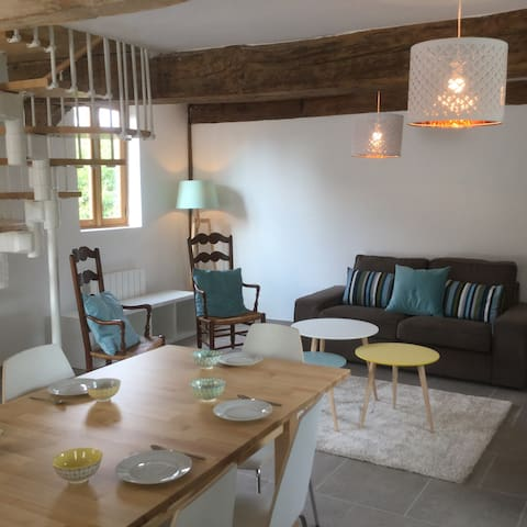 Near Paris, Giverny : country house 4 to 8 persons - Saint-Étienne-sous-Bailleul - Casa