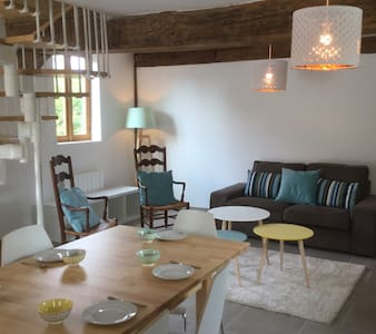 Near Paris, Giverny : country house 4 to 8 persons - Saint-Étienne-sous-Bailleul - Hus