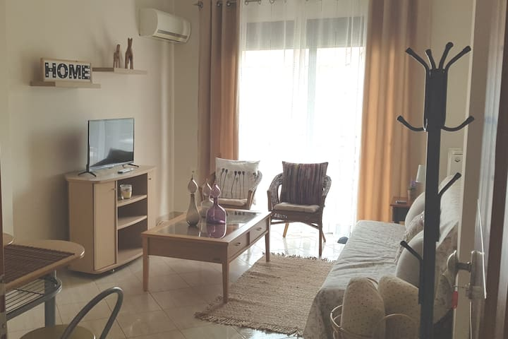 Boho Apartment Near to the sea,Nea Xili, free wifi