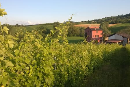 Country side indipendent villa - Pianello Val Tidone - Bed & Breakfast