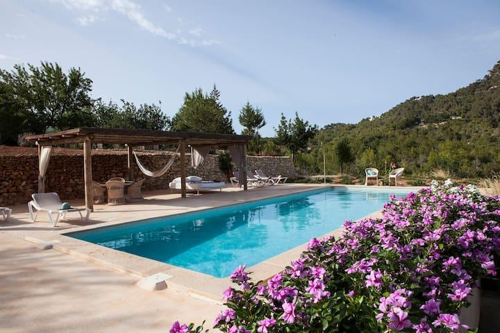 Ses Caletes Hacienda- Ibiza. Panoramic view