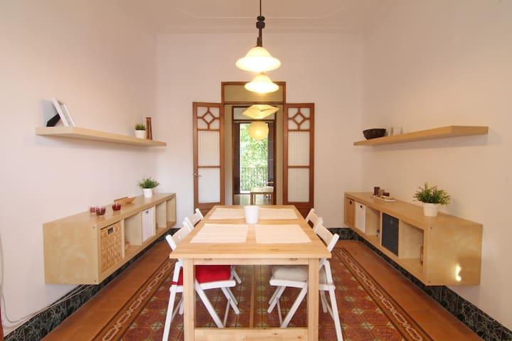 Sunny modernist apartment in center - Palma de Mallorca - Apartament
