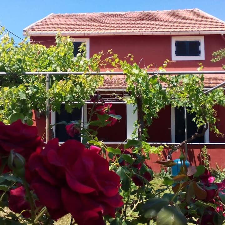Eva's farm house( blue lagoon room).