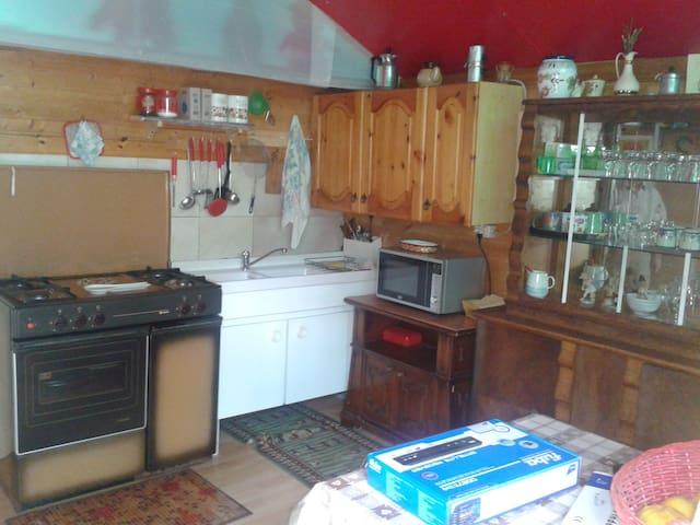 camera cucina bagno  - CAMPOTOSTO - Huis