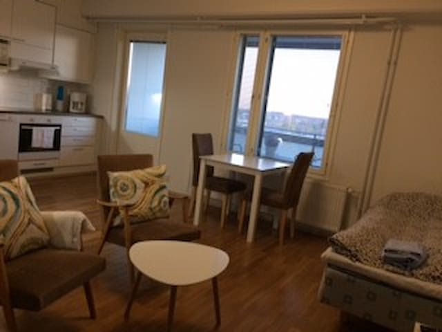 City-apartment in heart of Vaasa - 7 th floor - Vaasa - Apartment