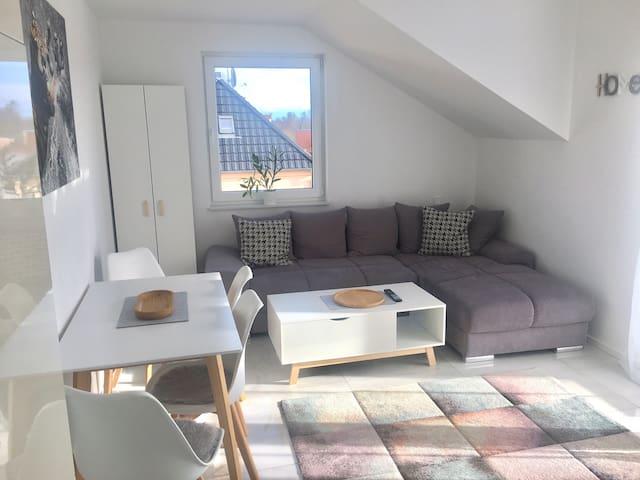 Modernes Apartment nur 10 min von Frankfurt
