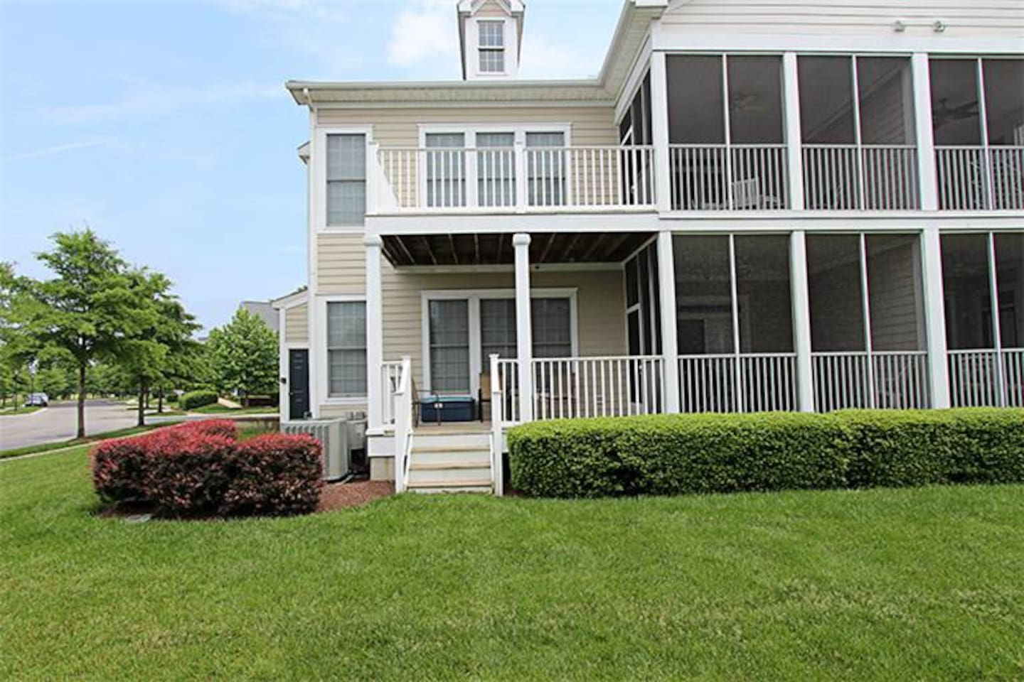 exterior - 1st floor condo - great porches - no steps at front door. 3rd porch on other side of unit, too.