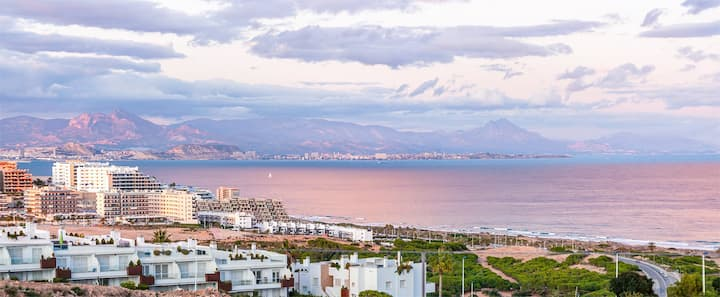 Brand new sea view apartment in Gran Alacant.