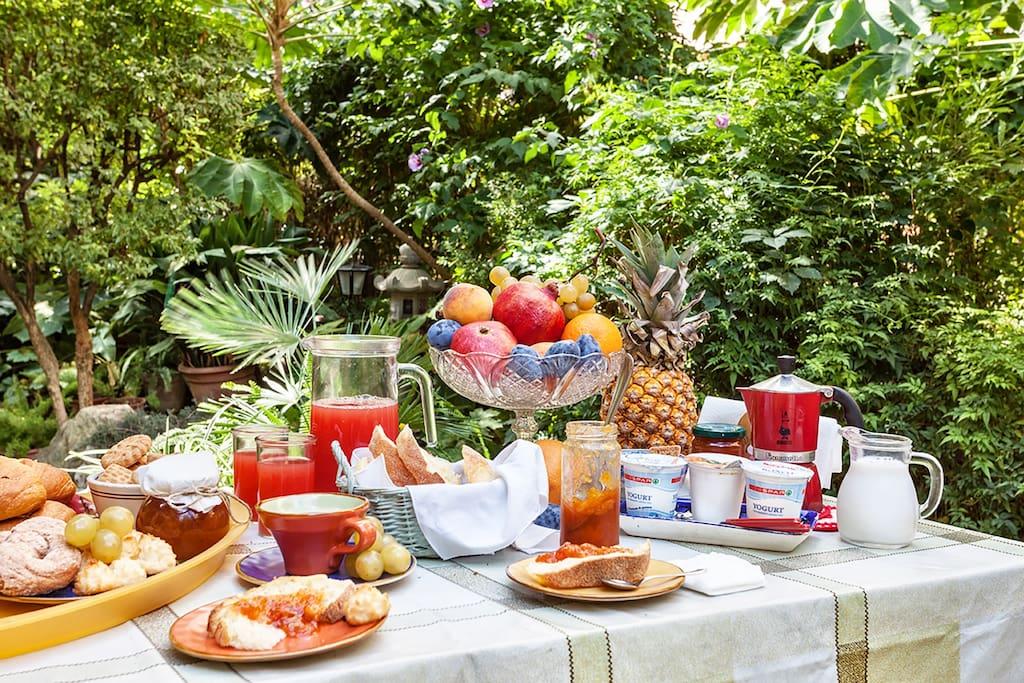 Zen garden b b trastevere chambres d 39 h tes louer rome latium italie - Cuisine romaine traditionnelle ...