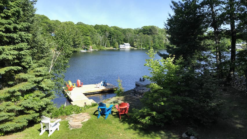 """Just Be"" at Miller Lake.... - Parry Sound - Cabin"