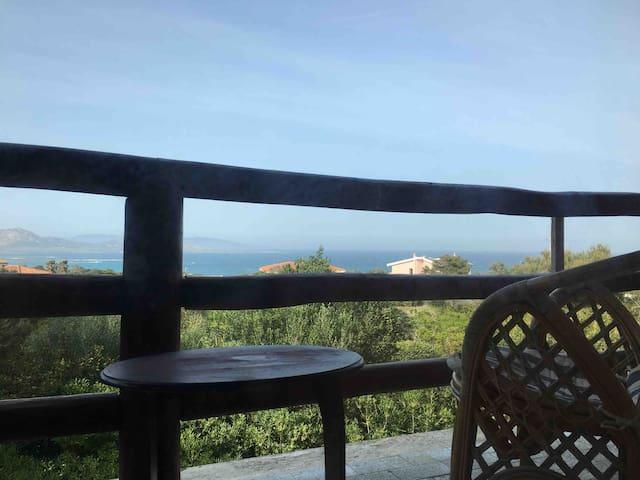 Appartamento con vista sul golfo dell'Asinara.