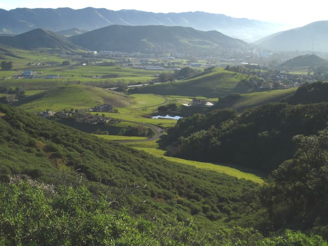 View of valley from Felsman Loop Trail