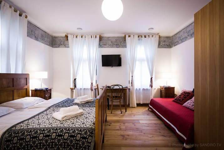 Luxury DB/TB in Julian Alps - Monte Cragnisca - Bed & Breakfast