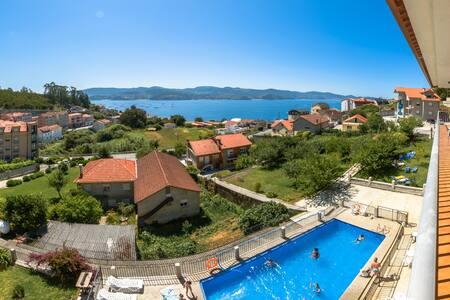 apartamento con vistas al mar  - Pontevedra - Leilighet