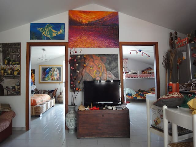 Accogliente bilocale vista mare - Roccalumera - Apartament