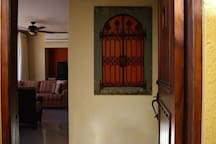 Lower unit entryway.