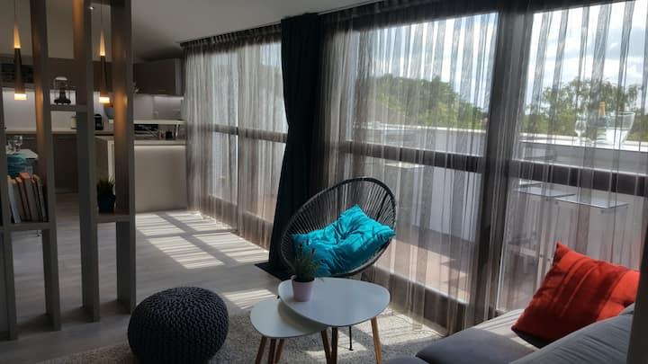 Balatonfüred - otthonos lakás kilátással