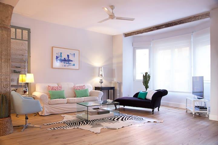 Juan de Austria -Madrid Center-Spacious 2 bedroom - มาดริด