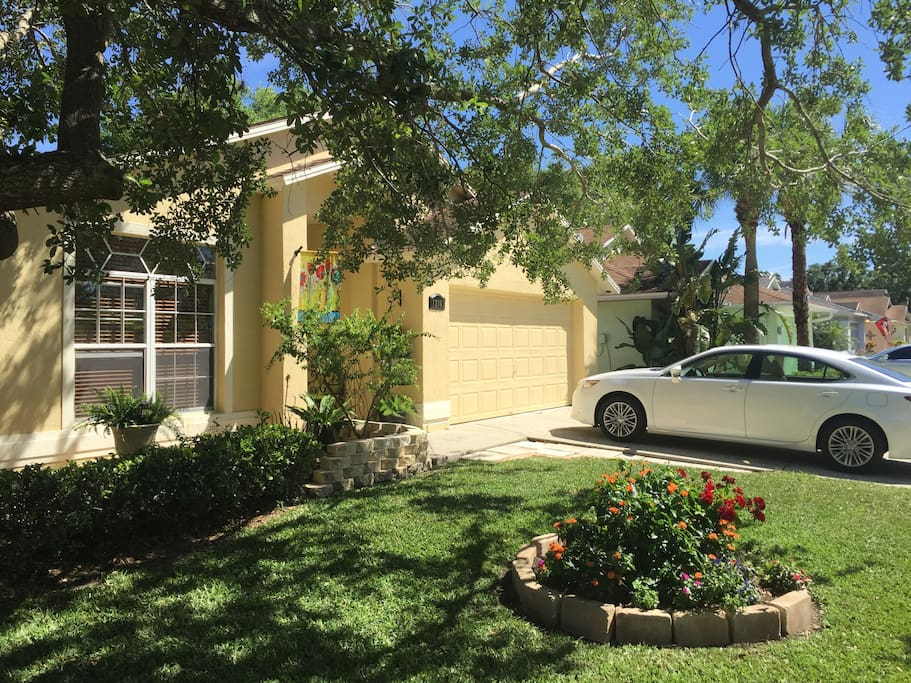 Casita del sol 2 bedroom private apt in home flats for 8 bedroom house for rent in orlando fl