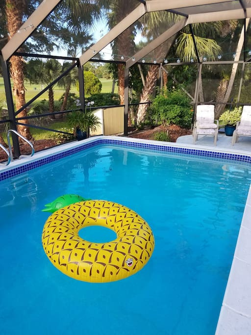 cool off with a quick dip in the pool!