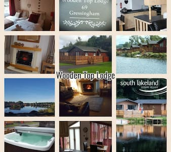 Wooden Top Lodge - with hottub