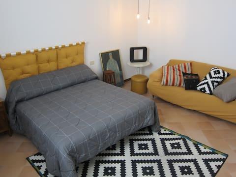 Casa nel verde a Reggio Emilia - double-bed room