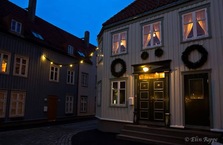In beautifull Bakklandet with two parking spaces - Trondheim - Appartement en résidence