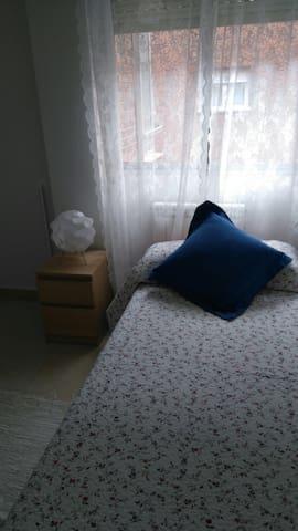 Acogedora habitación doble a 15 minutos del centro