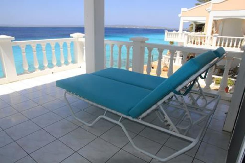 Relax and enjoy the gorgeous view from your private balcony