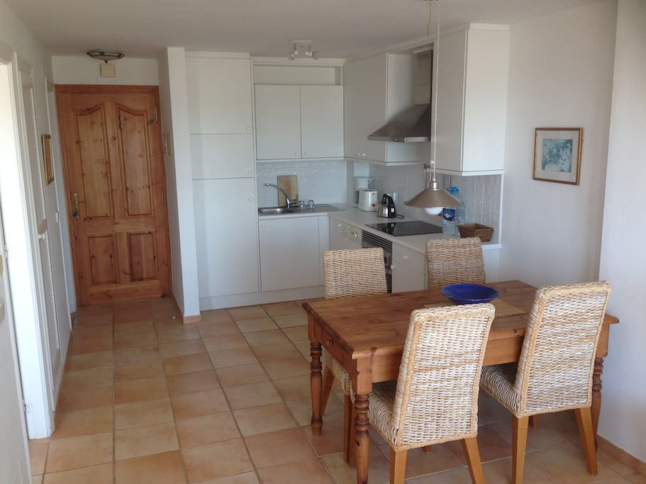 Main Room - kitchen & dining area