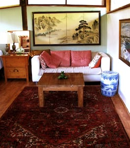 Elegant Wabi Sabi in East End - Ojai - Chalet