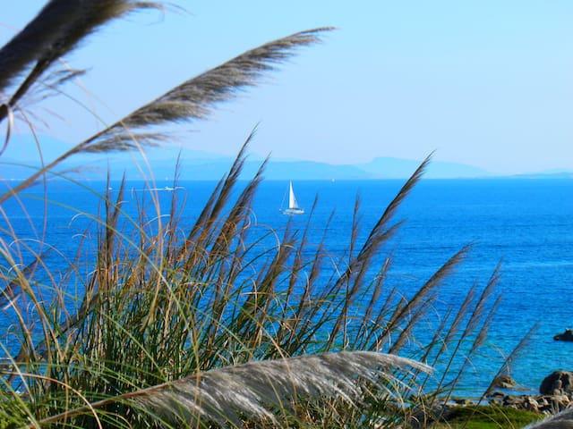 Appartamento vista mare in Sardegna - Terravecchia-portoquadro - Departamento