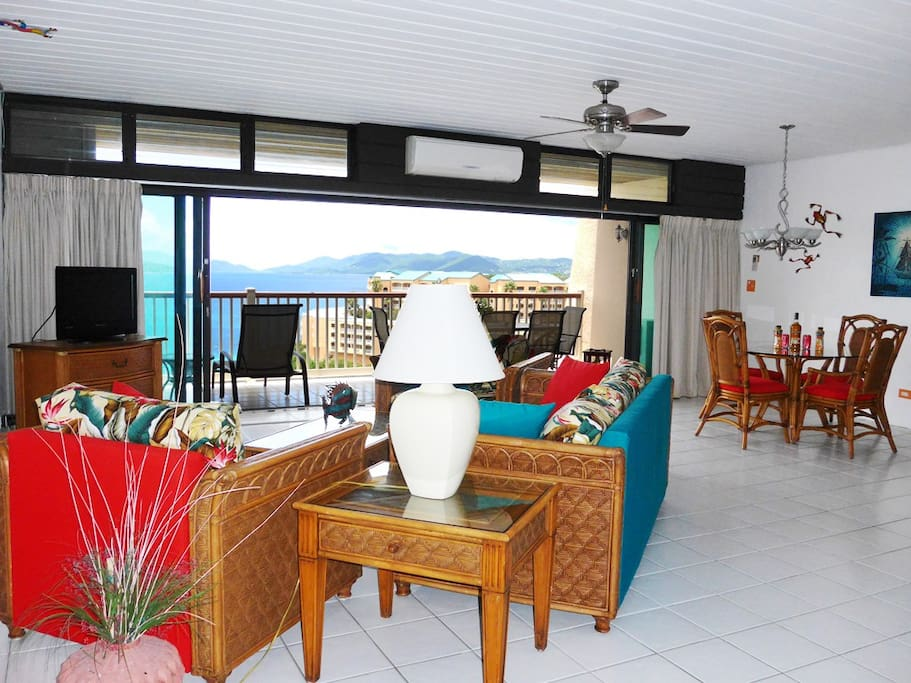 Be amazed by your daily view as you walk into the living area
