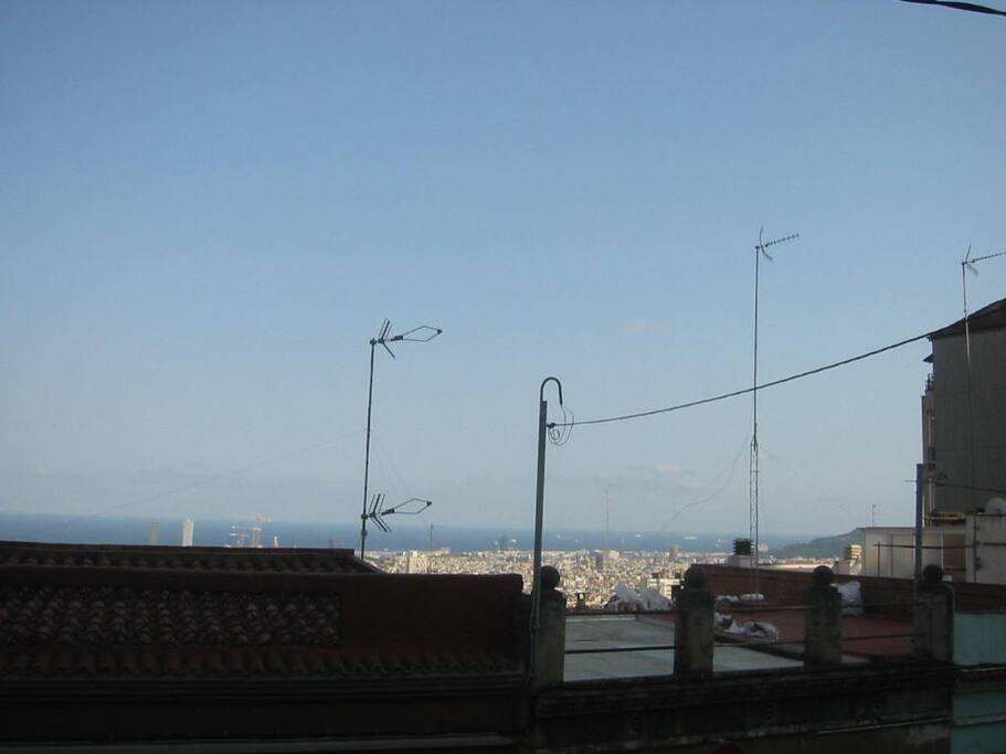 vistas al mar y a la ciudad