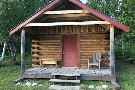 Byers Creek Lodge and cabins in Denali State Park