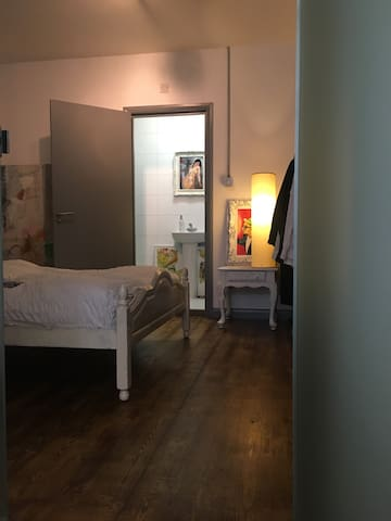 Large room in Hackney Loft with private bathroom - Londres - Loft