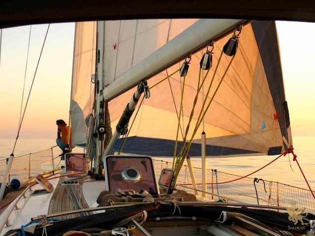 Isole Pelagie in barca a vela - Lampedusa E Linosa - Boat