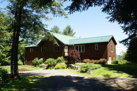 DaCy Meadow Farm: Sky Room - Westport - Bed & Breakfast