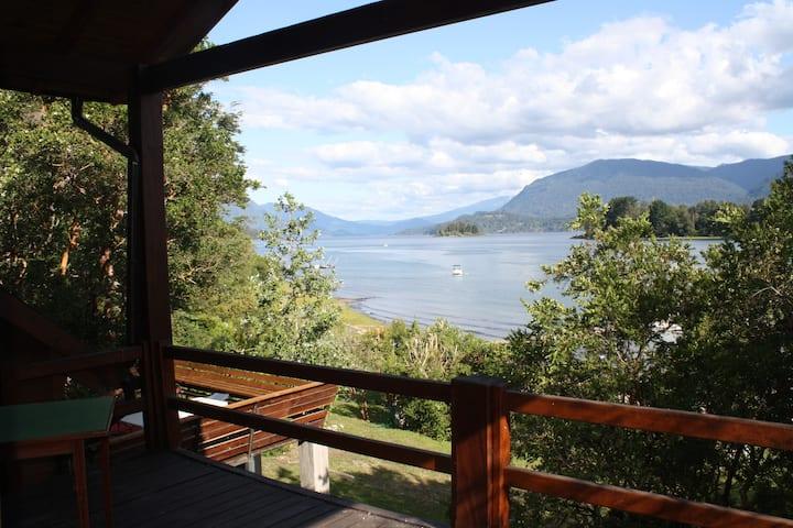 Casa amplia full equipada a orillas del lago
