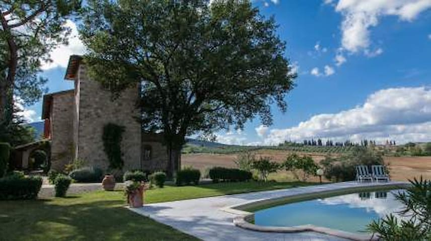 Luxury country villa  - Sarteano - Bed & Breakfast