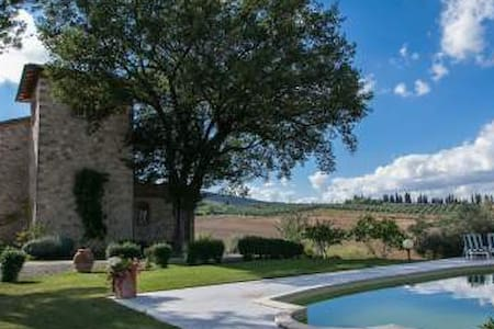 Luxury country villa  - Sarteano