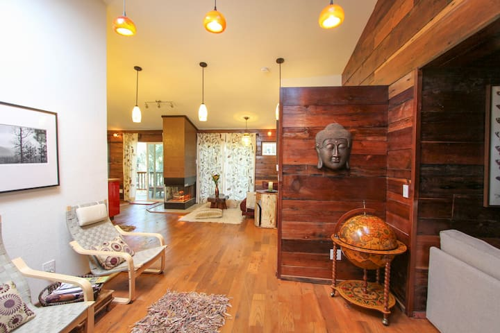 NY Loft in CA Redwoods!  (1314N) - Occidental - Cabana