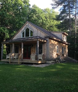 Romantic Private Vermont Cottage - North Bennington - Blockhütte