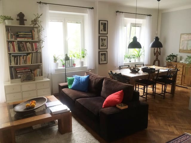 Charming and tasty apt near everything - Prague - Appartement