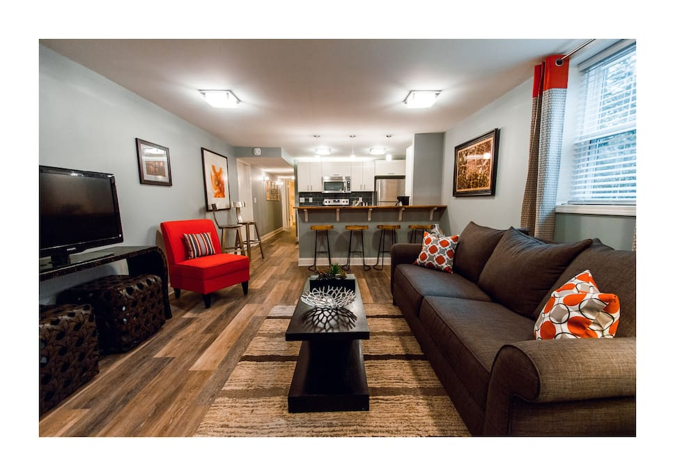 Modern east nashville charmer business ready guest Two bedroom suites in downtown nashville tn