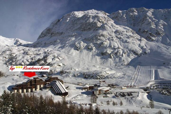 Appartamento per famiglie amanti della montagna