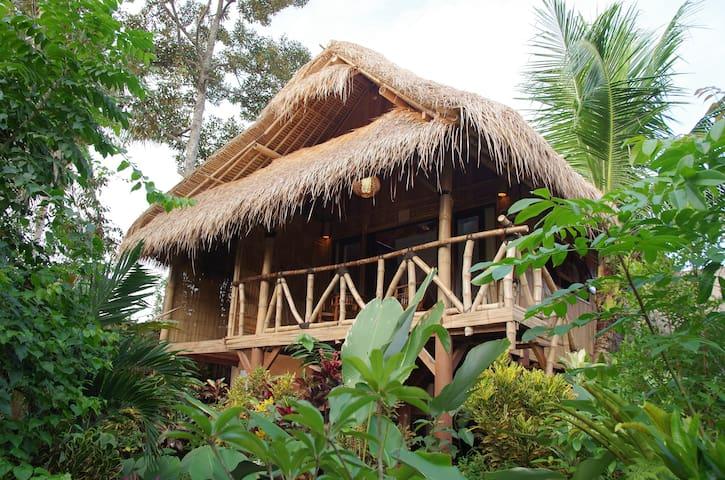 Organic Bamboobungalow2 Ubudsuburb  - Ubud - Treehouse